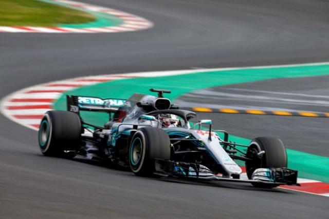 Mercedes-AMG Petronas Motorsport, Lewis Hamilton Formel 1, Barcelona, Test Tag 4 Foto: © Daimler AG