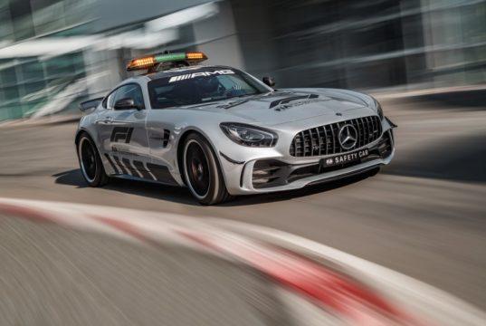 Formel1 Mercedes-AMG GT R Official F1 Safety Car 2018 © Daimler AG