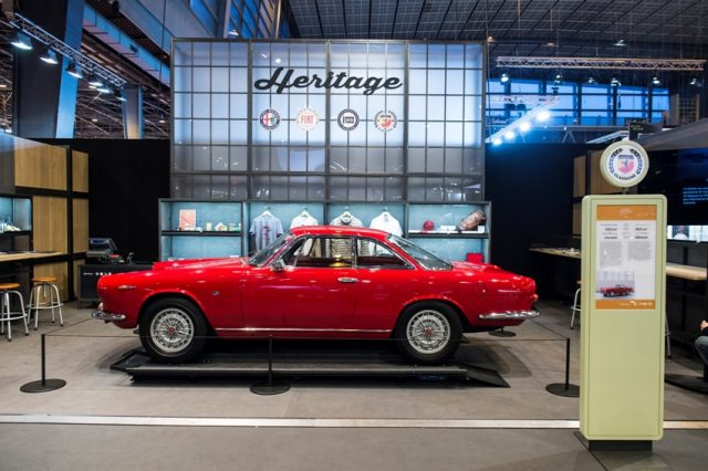 Heritage Salon Retromobile © FCA