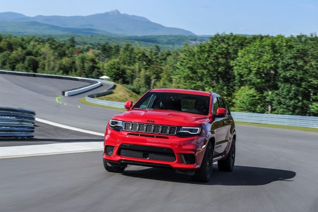 Jeep Grand Cherokee Trackhawk 2018 © Jeep