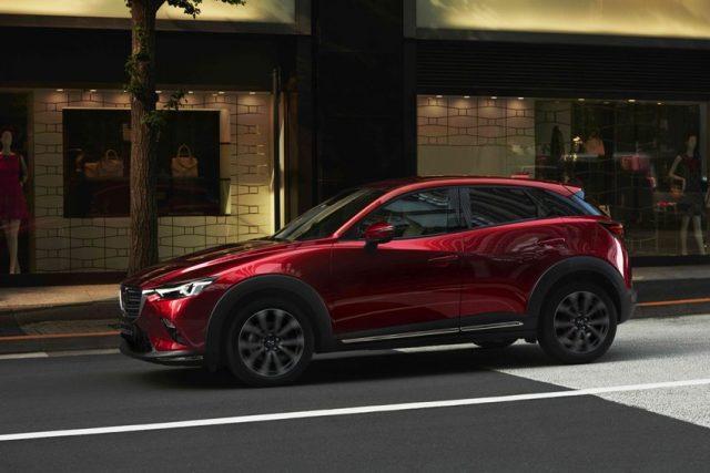 Mazda CX-3 (2018) wir umfassend aufgewertert u.a. Technik- und Sicherheitsausstattung erweitert © Mazda