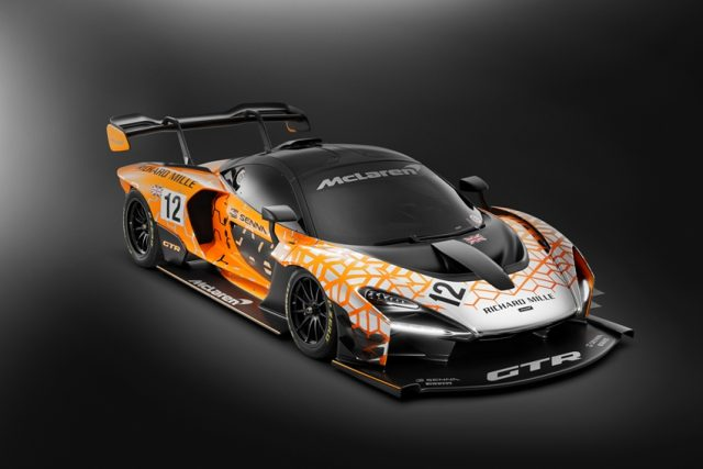 McLaren, Senna, GTR, Concept, Orange Foto: © McLaren Automotive