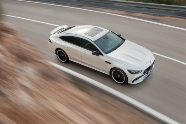 Mercedes-AMG GT 53 4MATIC+ 4-Türer Coupe, AMG Night-Paket Foto: © Daimler AG