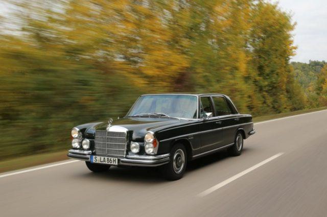Mercedes-Benz 300 SEL 6.3 (W 109), gebaut von 1968 bis 1972 © Daimler AG