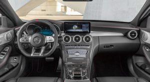 Neuer Mercedes-AMG C 43 4MATIC Cockpit Foto: © Daimler AG