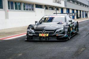Mercedes-AMG Motorsport DTM Team Vallelunga,Test Mercedes-AMG C 63 DTM Foto: © Daimler AG