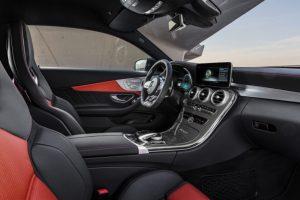 Mercedes-AMG C 63 S Coupé mit AMG Night Paket und AMG Carbon-Paket II Innenraum © Daimler AG