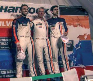 Customer Racing Stuart Hall, Roald Goethe und Daniel Brown, ROFGO Racing (v.l. n.r.) bei den 12h Silverstone © Daimler AG