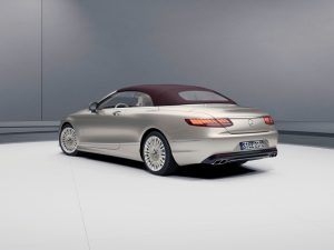Mercedes S-Klasse Cabrio Exclusive Edition Foto: © Daimler AG