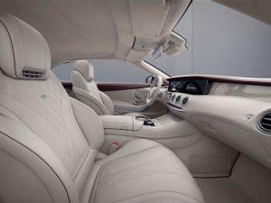 Mercedes S-Klasse Cabrio Exclusive Edition Innenraum Foto: © Daimler AG