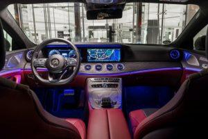 Mercedes-Benz CLS 450 4MATIC Cockpit Foto: © Daimler AG