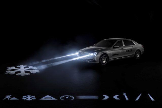 Mercedes- Benz DIGITAL LIGHT: Die revolutionäre Scheinwerfertechnologie DIGITAL LIGHT mit nahezu blendfreiem Fernlicht in HD-Qualität und mit mehr als zwei Millionen Pixel Auflösung steht für höchste Präzision, optimale Sicht des Fahrers nahezu ohne Blendwirkung sowie für Performance, Fahrassistenz und Kommunikation Foto: © Daimler AG