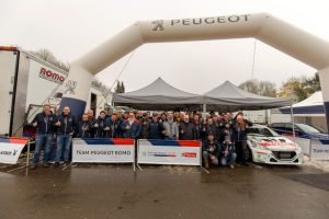 DRM ADAC Saarland-Pfalz Rallye 2018 Peugeot Team Romo DRM Foto: © Peugeot