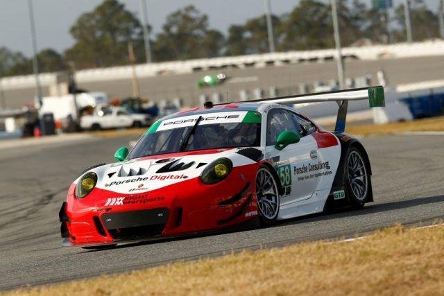 Porsche 911 GT3 R (58), Wright Motorsports: Patrick Long, Christina Nielsen, Mathieu Jaminet, Robert Renauer Foto: © Porsche Motorsport