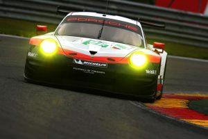 Porsche 911 RSR (91), Porsche GT Team: Richard Lietz, Frederic Makowiecki Motorsport / FIA WEC Spa Francorchamps, Porsche 911 RSR © Porsche Motorsport