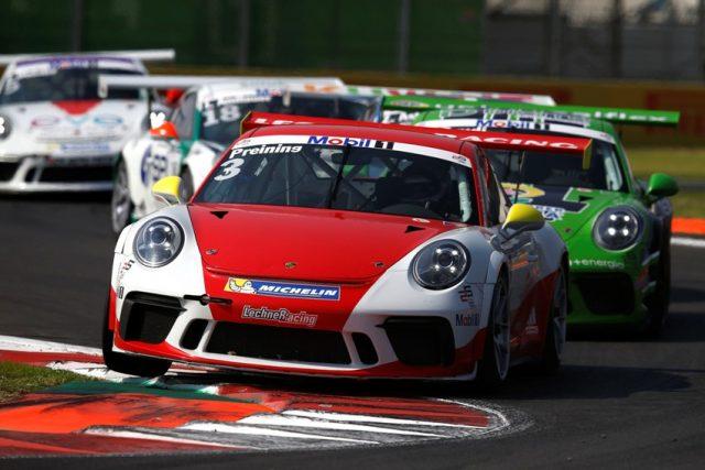 Porsche Mobil 1 Supercup Mexiko 2017 #3 Thomas Preining (AUT, Walter Lechner Racing Team) Foto: © Porsche