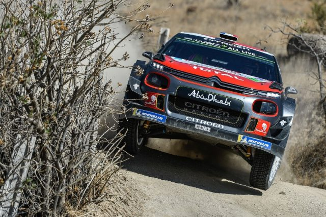 Citroen C3 WRC bei der Rallye Mexico © Citroen Racing