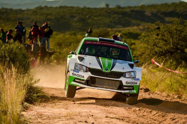 Skoda bei der Rallye Mexiko 2018: Pontus Tidemand/Jonas Andersson (SWE/SWE) wollen im ŠKODA FABIA R5 ihren Vorjahressieg in der Kategorie WRC 2 wiederholen Foto: © Skoda