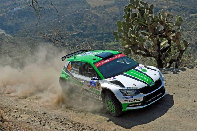 Skoda bei der Rallye Mexiko 2018 © Daniel Roeseler