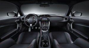 Subaru BRZ Modelljahr 2018 mit serienmäßigen Navigationssystem Foto: © Subaru