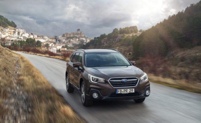 Subaru Outback Modelljahr 2018 Foto: © Subaru