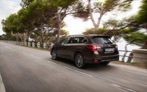 Subaru Outback Modelljahr 2018 Heckansicht  Foto: © Subaru