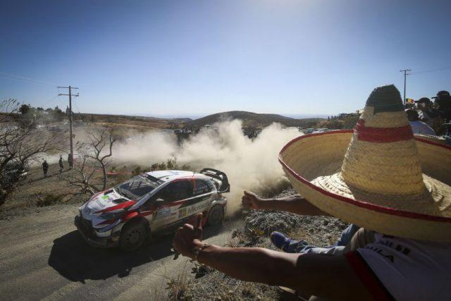 Toyota Yaris WRC Toyota Gazoo Racing Rallye Mexico 2018 © Toyota Gazoo Racing