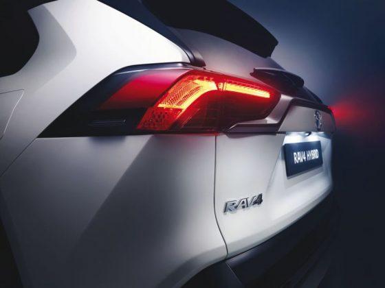 Toyota RAV4 LED Rückleuchten der fünften Generation des RAV4 © Toyota