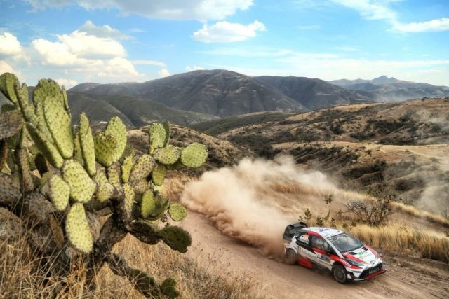 Toyota GAZOO Racing bei der Mexico Rallye 2017 Foto: © Toyota Gazoo Racing WRC