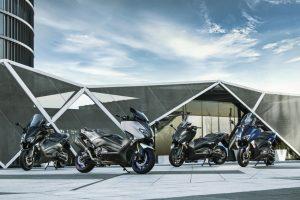 Yamaha TMAX Modelle 2018 und TMAX SX Sport Edition Modell 2018 Foto: © Yamaha