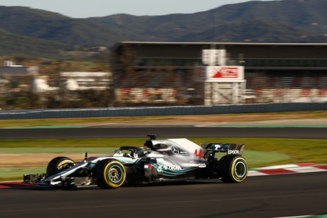 Formel 1, Barcelona Tests Mercedes-AMG Petronas Motorsport Foto: © Mercedes Motorsport Daimler AG