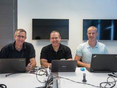 Anagog Gründer: Yaron Aizenbud - Ofer Tziperman - Gil Levy (von links) © Porsche