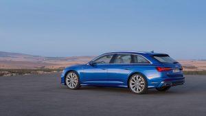 Audi A6 Avant Sitenansicht Modell 2018 © AUDI AG