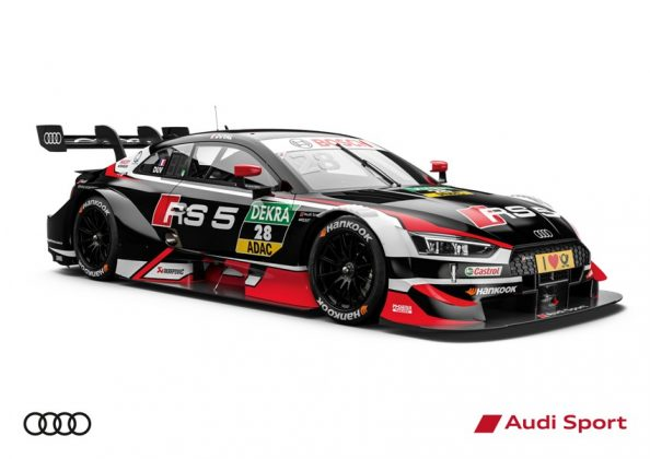 Audi RS 5 DTM 2018 Loilc Duval DTM Saison 2018 © Audi Communications Motorsport