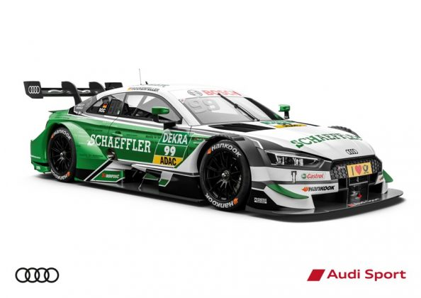 Audi RS 5 DTM 2018 Mike Rockenfeller DTM Saison 2018 © Audi Communications Motorsport