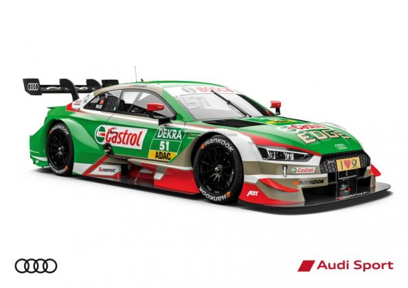 Audi RS 5 DTM 2018 Nico Müller DTM Saison 2018 © Audi Communications Motorsport
