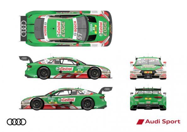 Audi RS 5 DTM 2018 Nico Müller DTM Saison 2018 alle Ansichten © Audi Communications Motorsport
