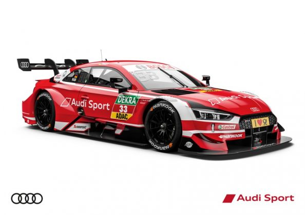 Audi RS 5 DTM 2018 Rene Rast DTM Saison 2018 © Audi Communications Motorsport