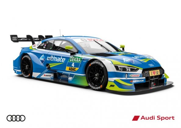 Audi RS 5 DTM 2018 Robin Frijns DTM Saison 2018 © Audi Communications Motorsport