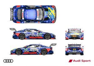 Red Bull Audi RS 5 DTM #5 (Audi Sport Team Abt Sportsline), Mattias Ekström © Audi Communications Motorsport