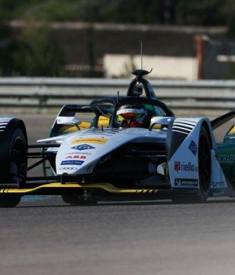 Formel E, Test Calafat Audi e-tron FE05, Daniel Abt © Audi Communications Motorsport / Michael Kunkel