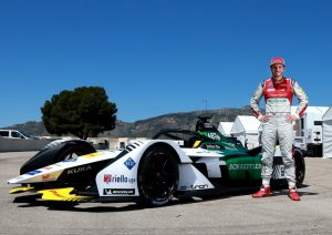 Formel E, Test Calafat Audi e-tron FE05, Daniel Abt © Audi Communications Motorsport / Michael Kunkel