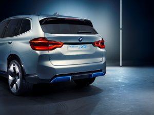 BMW Concept iX3 Heckansicht  © BMW AG
