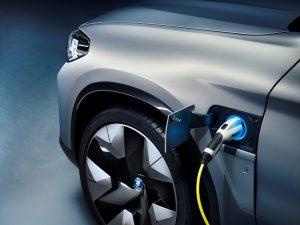 BMW Concept iX3 Ladesteckdose  © BMW AG