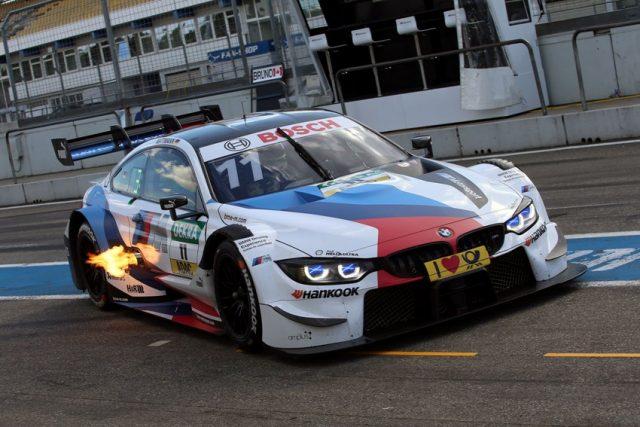 BMW M4 DTM bei DTM Test 2018 Hockenheim © BMW AG