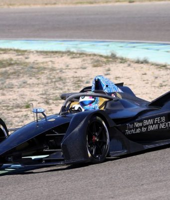 Formel E Test Bruno Spengler (CAN) BMW iFE.18, ABB FIA Formula E Championship © BMW Motorsport