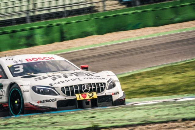 DTM Test Hockenheim 2018 Mercedes AMG Petronas Motorsport © Daimler