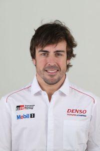 Formel 1 Champion Fernando Alonso wird den Toyota TS050 fahren © Toyota GAZOO Racing
