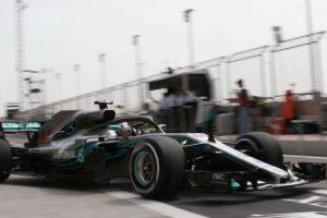 Formel 1 - Mercedes-AMG Petronas Motorsport, GP von Bahrain 2018. Lewis Hamilton © Mercedes-AMG Petronas Motorsport