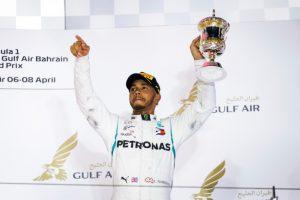 Formel 1 - Mercedes-AMG Petronas Motorsport, Großer Preis von Bahrain 2018 Lewis Hamilton © Mercedes-AMG Petronas Motorsport